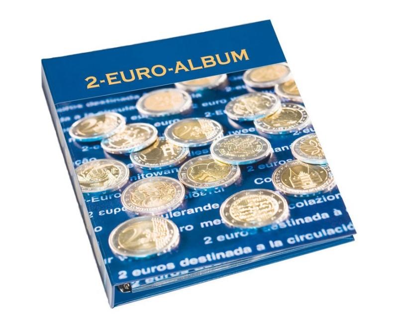 Leuchtturm Band 1 für 2-Euro-Gedenk-Münzen Münzalbum NUMIS