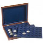 Leuchtturm VOLTERRA TRIO, für je 30 Münzen in Kapseln bis38 mm Ø Münzkassette