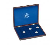 Leuchtturm VOLTERRA UNO de Luxe, für 30 deutsche 10-Euro-Gedenkmünzen in Original-Kapsel Münzkassette