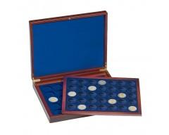 Leuchtturm VOLTERRA DUO de Luxe, für je 35 Münzen in Kapseln bis 26 mm Ø Münzkassette