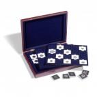 Leuchtturm VOLTERRA TRIO, für je 20 QUADRUM Münzkapseln oder Münzenrähmchen 50x50 mm Münzkassette