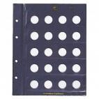 Leuchtturm für 20-Cent-Münzen Münzblätter VISTA