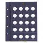 Leuchtturm für 1-Euro-Münzen Münzblätter VISTA