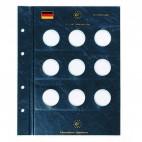 Leuchtturm für deutsche 10-Euro-Gedenkmünzen Münzblätter VISTA