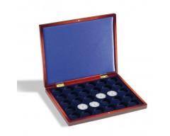 Leuchtturm VOLTERRA UNO de Luxe, für 30 Münzen in Kapselnbis 32 mm Ø Münzkassette