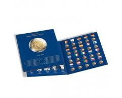 """Leuchtturm PRESSO """"10 Jahre WWU"""" Münzalbum Euro-Collection für 2-Euro-Münzen"""