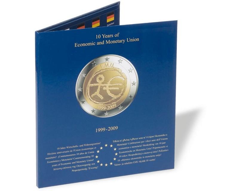 Leuchtturm Presso 10 Jahre Wwu Münzalbum Euro Collection Für 2