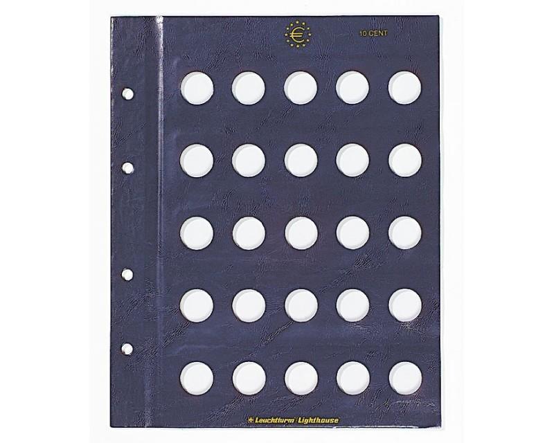 Leuchtturm für 10-Cent-Münzen Münzblätter VISTA