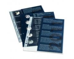 Leuchtturm Nachtrag 2009 für 10-Euro-Gedenkmünzenalbum