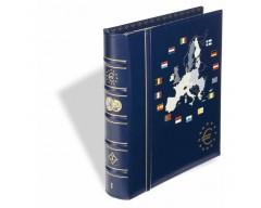 Leuchtturm Band 1 für 12 Euro Kursmünzensätze, inkl. Schutzkassette Münzalbum VISTA