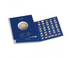 """Leuchtturm PRESSO """"10 Jahre Euro-Bargeld"""" Münzalbum Euro-Collection für 2-Euro-Münzen"""