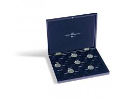 """Leuchtturm VOLTERRA UNO de Luxe, für 27 10-Euro-Münzen """"EUROS DES RÉGIONS2012""""in Kaps. Münzkassette"""