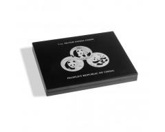 Leuchtturm für 20 Panda-Silberunzen in Kapseln Münzkassette