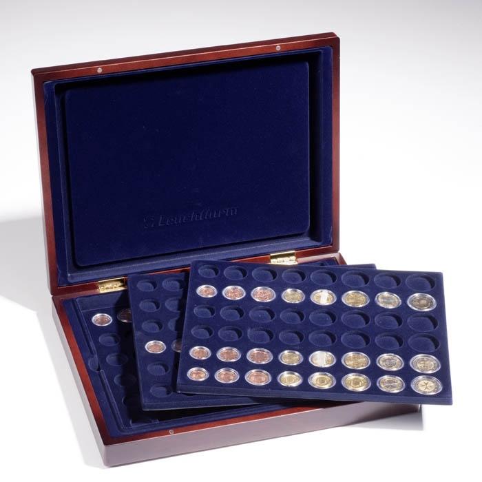 40Münzen Kapseln Kunststoff Aufbewahrungsbox Für 16 20 25 27 30 38 46mm